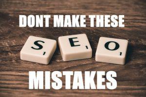 5 SEO Mistakes