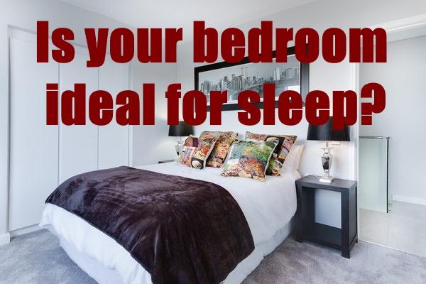 Bedroom Ideal for Sleep