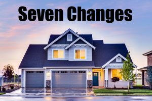 Seven Changes To Your Home That Transforms It