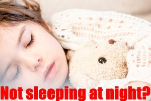 Your Little One Isn't Sleeping At Night