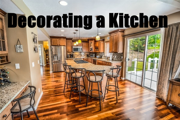 Decorating a Kitchen