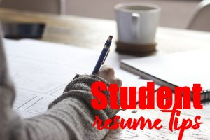 Students to Write The First Resume