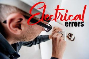 Electrical Inspection Errors