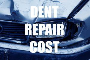 Dent Repair Cost