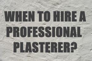 Hire a Professional Plasterer