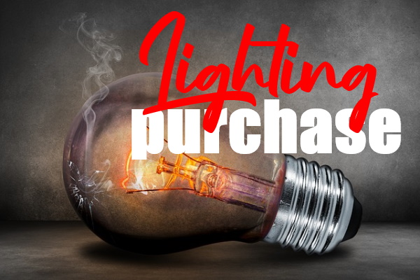 Lighting Purchase