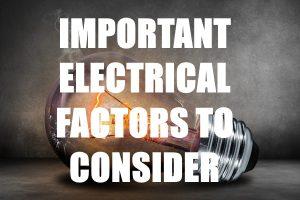 Electrical Factors