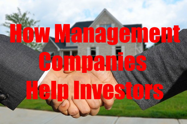 Real Estate Management Companies Helps investors