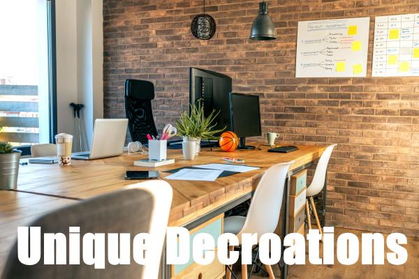 Unique Decorations For your Office