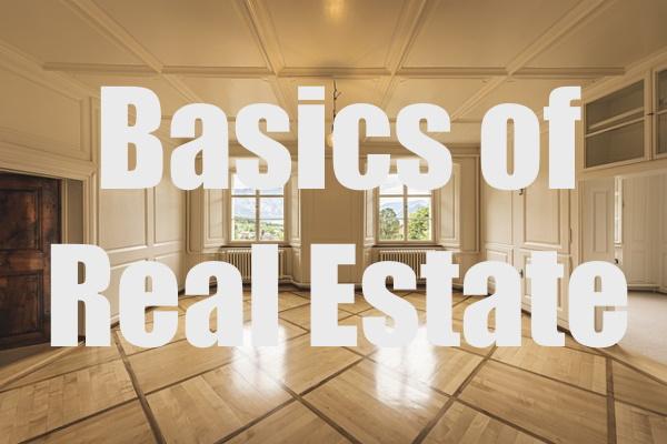 Basics of Real Estate Investment