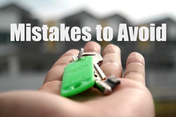 Mistakes to Avoid