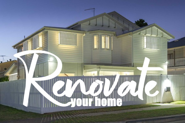 TO RENOVATE YOUR HOUSE
