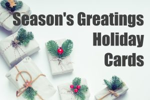 Season's Greetings Holiday Cards