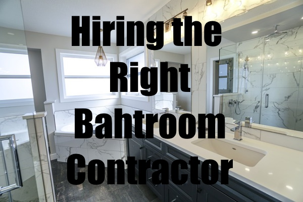 Right Bathroom Contractor