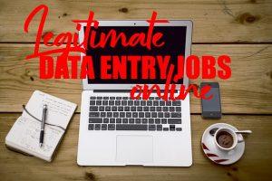 Legitimate Data Entry Jobs