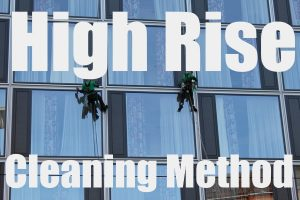 Cleaning Method for High-Rise Buildings