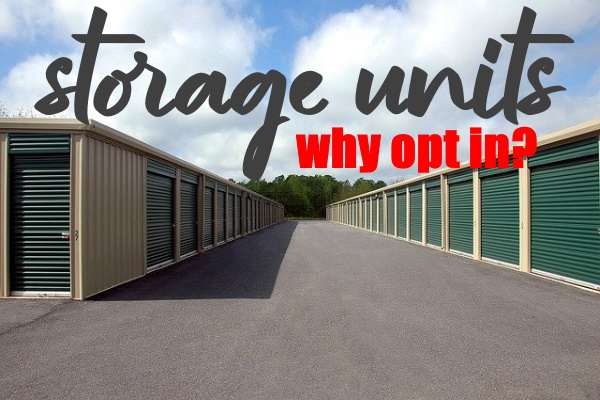 OPT FOR STORAGE UNITS