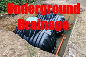 Build An Underground Drainage