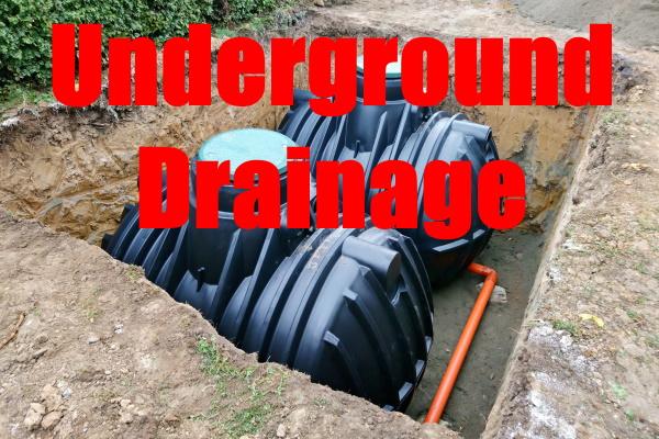 Build An Underground Drainage