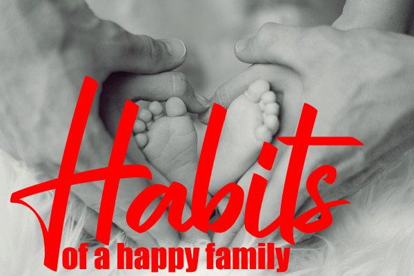7 Habits That Form A Happy Family