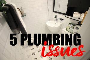 5 Plumbing Issues