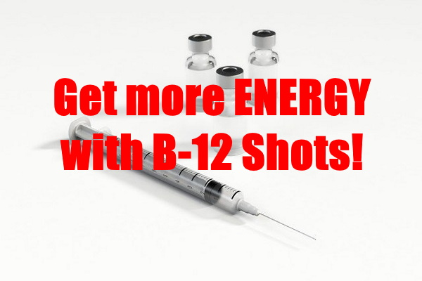 More Energy with B12 Shots