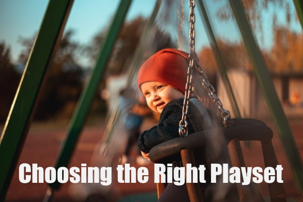 Choose a Great Playset for Your Kids