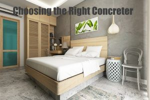 Choosing the Right Concreter