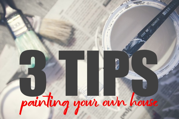 Painting Your Home Yourself
