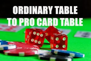 Professional-Style Card Game Table