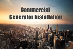 Commercial Generator Installation