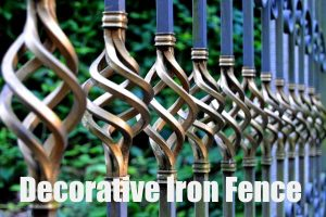 Decorative Metal Fence