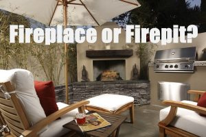 What To Choose: An Outdoor Fireplace Or A Fire Pit?