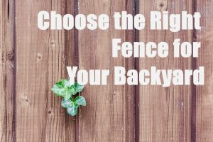 Best Type of Fence