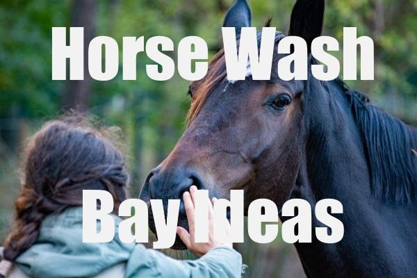 Horse Wash Bay Ideas