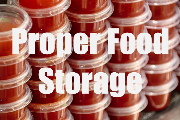 Store Food Properly