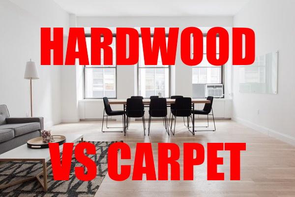 Hardwood Flooring vs. Carpet