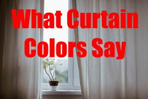 Interior Design Pro What Your Curtain Colors Say About Your Home