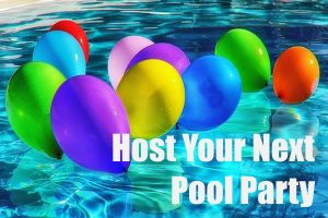 host a next pool party