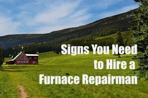 Hire a Furnace Repair Company